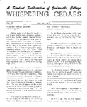 Whispering Cedars, May 26, 1965 by Cedarville College