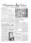 Whispering Cedars, December 2, 1966