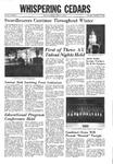 Whispering Cedars, December 15, 1966
