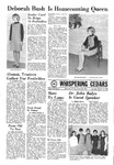 Whispering Cedars, October 14, 1967 by Cedarville College