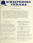 Whispering Cedars, May 14, 1959