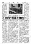 Whispering Cedars, November 22, 1968 by Cedarville College