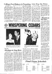 Whispering Cedars, December 11, 1968 by Cedarville College