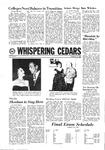 Whispering Cedars, December 11, 1968