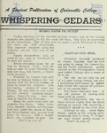 Whispering Cedars, December 18, 1959 by Cedarville College