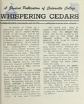Whispering Cedars. January 1960 by Cedarville College