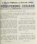 Whispering Cedars, February 19, 1960 by Cedarville College