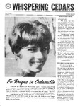 Whispering Cedars, October 18, 1969 by Cedarville College