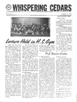 Whispering Cedars, November 17, 1969 by Cedarville College