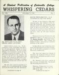Whispering Cedars, November 2, 1962