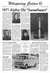Whispering Cedars, February 16, 1971