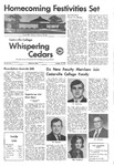 Whispering Cedars, October 15, 1971 by Cedarville College