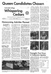 Whispering Cedars, October 19, 1972 by Cedarville College