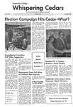 Whispering Cedars, November 1, 1972