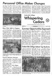 Whispering Cedars, January 16, 1973 by Cedarville College