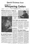 Whispering Cedars, December 10, 1973