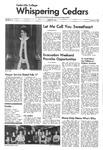 Whispering Cedars, February 9, 1974