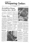 Whispering Cedars, November 13, 1974