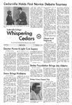 Whispering Cedars, December 11, 1974 by Cedarville College