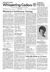 Whispering Cedars, February 26, 1975