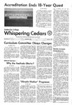 Whispering Cedars, April 23, 1975 by Cedarville College