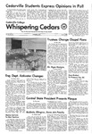Whispering Cedars, June 4, 1975 by Cedarville College