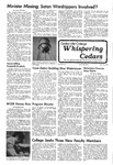 Whispering Cedars, November 19, 1975 by Cedarville College