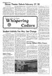 Whispering Cedars, February 18, 1976