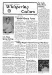 Whispering Cedars, April 7, 1976