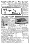 Whispering Cedars, May 5, 1976 by Cedarville College