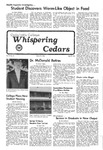 Whispering Cedars, May 19, 1976
