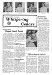 Whispering Cedars, October 15, 1976 by Cedarville College