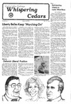Whispering Cedars, November 12, 1976