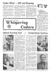 Whispering Cedars, October 29, 1976 by Cedarville College