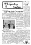 Whispering Cedars, November 24, 1976