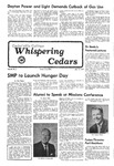 Whispering Cedars, January 14, 1977 by Cedarville College