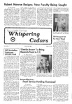 Whispering Cedars, April 8, 1977