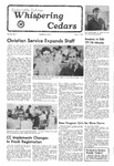 Whispering Cedars, October 7, 1977 by Cedarville College