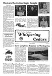 Whispering Cedars, October 14, 1977 by Cedarville College