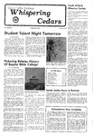 Whispering Cedars, November 4, 1977