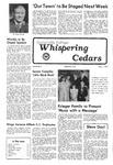 Whispering Cedars, November 11, 1977