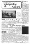 Whispering Cedars, December 2, 1977