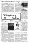 Whispering Cedars, December 9, 1977 by Cedarville College
