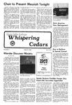 Whispering Cedars, December 9, 1977