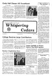 Whispering Cedars, February 17, 1978 by Cedarville College