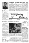 Whispering Cedars, April 14, 1978 by Cedarville College
