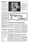 Whispering Cedars, May 5, 1978 by Cedarville College