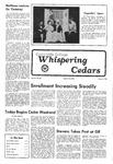 Whispering Cedars, May 5, 1978