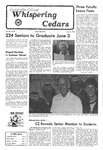 Whispering Cedars, May 26, 1978 by Cedarville College