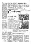 Whispering Cedars, December 8, 1978 by Cedarville College